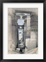 Framed Temple of Karnacs Egypt