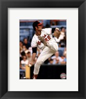 Framed Jim Palmer Action