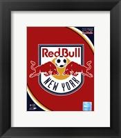 Framed 2011 New York Red Bulls Team Logo
