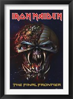 Framed Iron Maiden - The Final Frontier