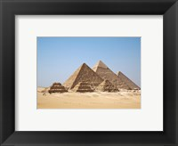 Framed All Gizah Pyramids