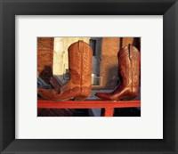 Framed Cowboy Boots