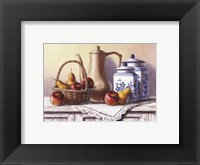 Country Kitchen IV Framed Print