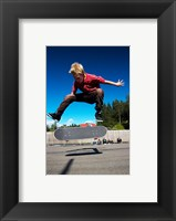 Framed Skateboarder
