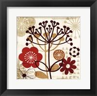 Floral Pop II Framed Print
