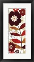 Framed Floral Pop I