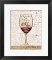 Wine by the Glass II Framed Print