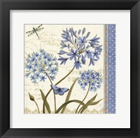 Blue Melody IV Framed Print