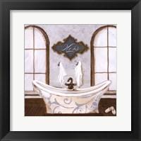 Framed Villa Bath I