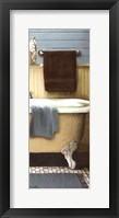 Blue Bain Panel III Framed Print