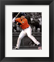 Framed Buster Posey 2011 Spotlight Action