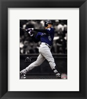 Framed Carlos Gonzalez 2011 Spotlight Action