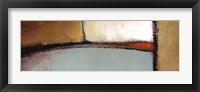 Golden Insight Panel II Framed Print