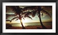 Framed Bimini Sunset