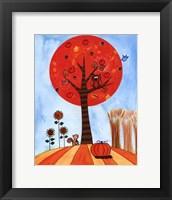 Tree in Autumn Framed Print