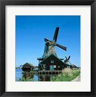 Framed Windmill, Zaanse Schans, Netherlands