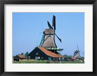 Framed Windmills, Zaanse Schans, Netherlands
