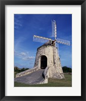 Framed Windmill at the Whim Plantation Museum, Frederiksted, St. Croix Vertical