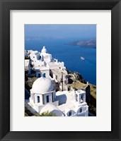 Framed Cyclades Islands, Greece