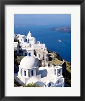 Framed Cyclades Islands, Greece