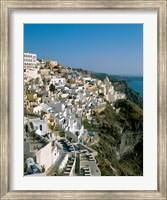 Framed Santorini, Cyclades Islands, Greece