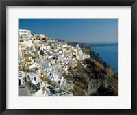 Framed Thira (Fira), Cyclades Islands, Greece