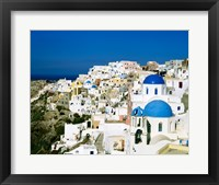 Framed Santorini, Oia, Cyclades Islands, Greece