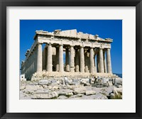 Framed Parthenon, Acropolis, Athens, Greece