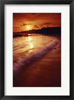 Framed Salt Pond Beach Park Kauai Hawaii USA