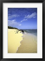 Framed Kauai Hawaii - Sandy Beach