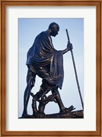 Framed Statue of Mahatma Gandhi, Chennai, Tamil Nadu, India