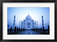Framed Facade of the Taj Mahal, India