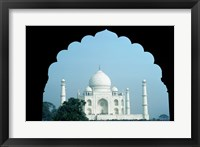 Framed Taj Mahal Agra India