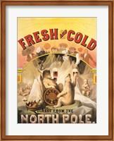 Framed North Pole Lager