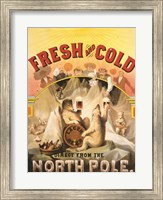 Framed North Pole Lager