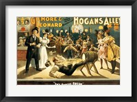 Framed Hogan's Alley Beer