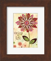 Framed Petal Power I