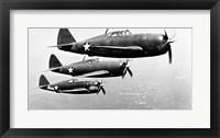 Framed P-47 Thunderbolt