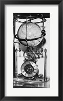Framed American clock built in 1880 from the James Arthur Collection of Clocks and Watches, New York University