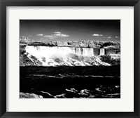 Framed Canada, Niagara Falls, Infrared view, taken from Canadian side
