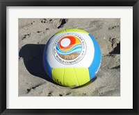 Framed Beach Volleyball Ball