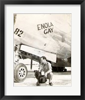 Framed Enola Gay