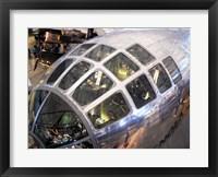 Framed Enola Gay Cockpit