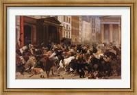Framed Bulls and Bears in the Market