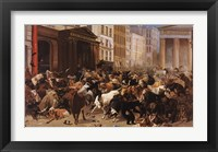 Framed Bulls and Bears in the Market