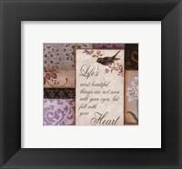 Lavender Inspiration II Framed Print