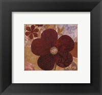 Framed Contemporary Floral II