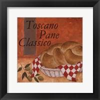 Framed Toscano Pane Classico