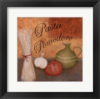Pasta Pomodoro Framed Print