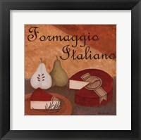 Formaggio Italiano Framed Print